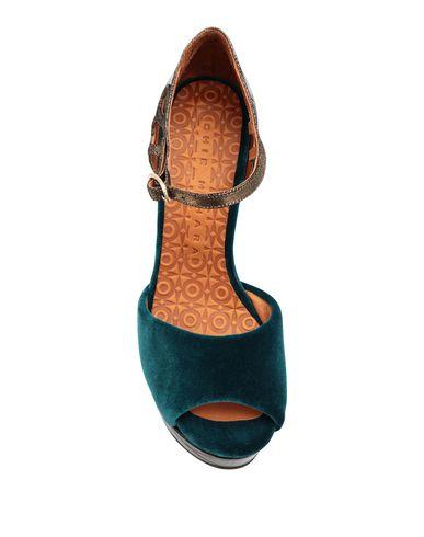 Sandales Vert Chie Chie Mihara Mihara Pétrole tzpa4