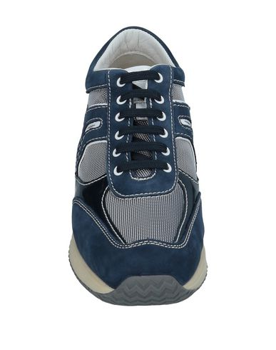 Foncé Geox Geox Sneakers Sneakers Bleu xTInqFw1SF