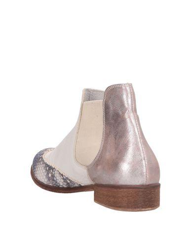 Scarpe Bianco Chelsea Boots Donna Ebarrito