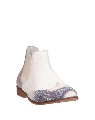 Chelsea Ebarrito Scarpe Boots Donna Bianco