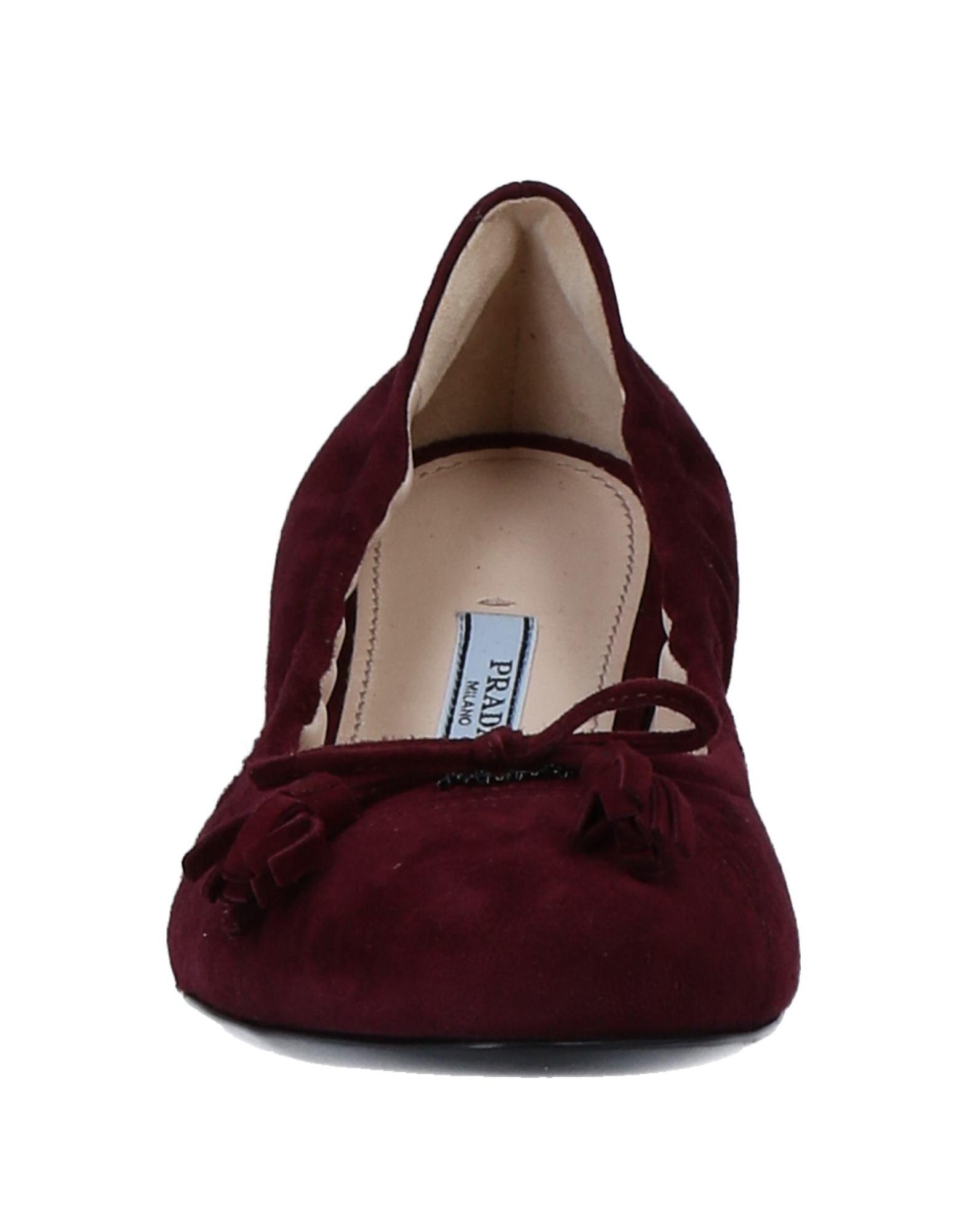 Rabatt Prada Schuhe Prada Rabatt Ballerinas Damen  11552519AW 420669