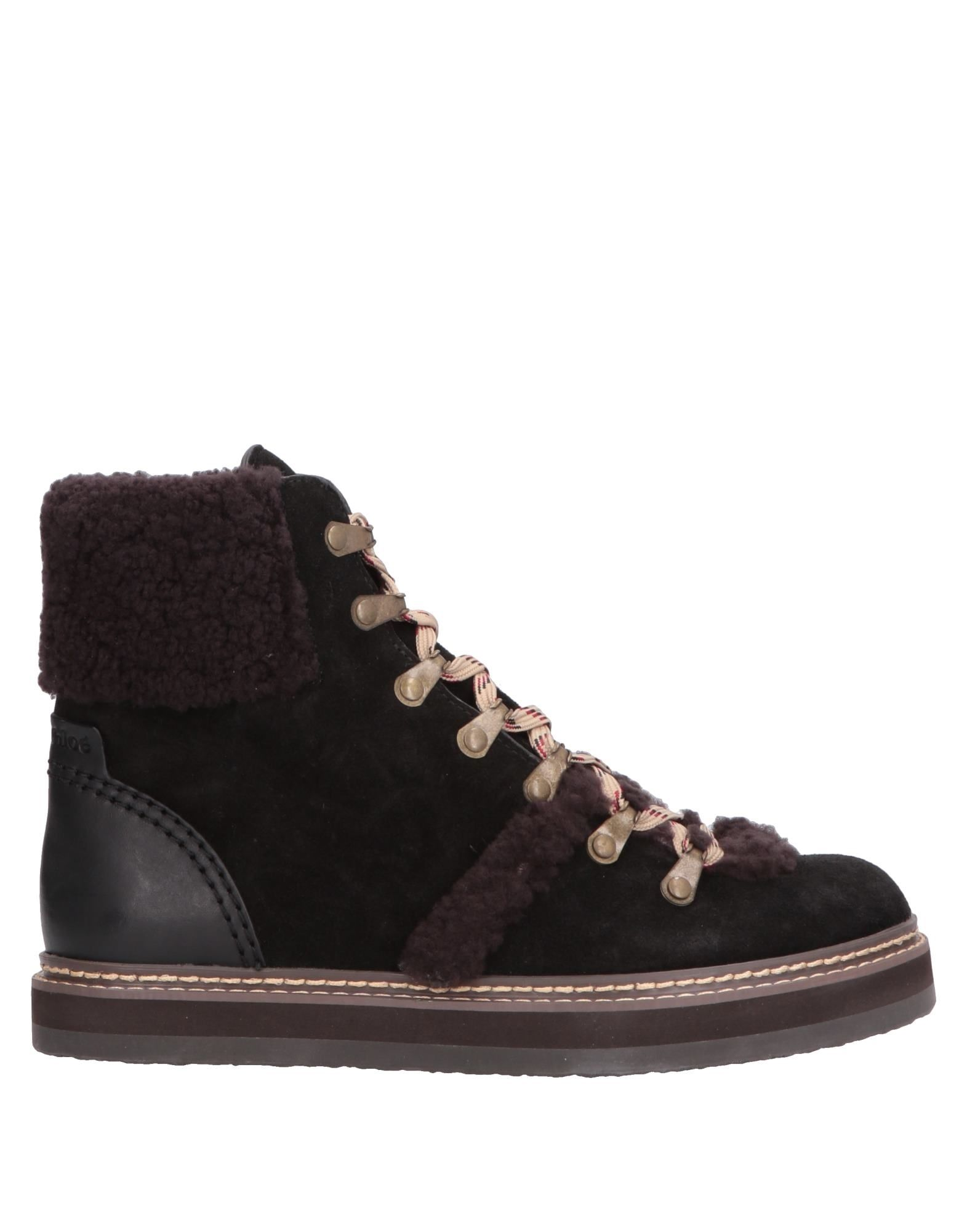 Bottine See By Chloé Femme - Bottines See By Chloé Chocolat Chaussures casual sauvages