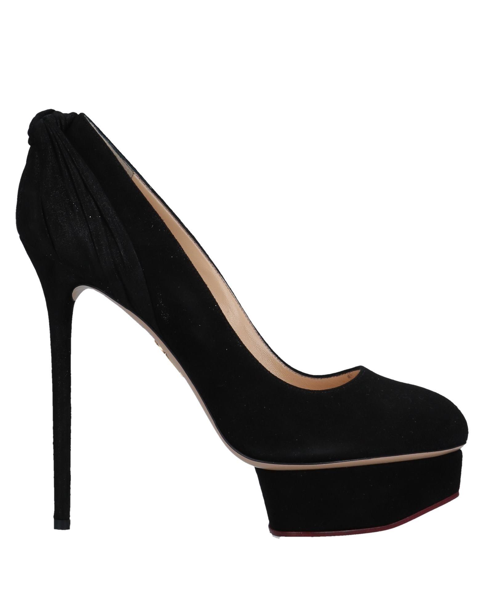 Charlotte Olympia Pumps aussehende Damen  11553462GRGünstige gut aussehende Pumps Schuhe a0d0d9