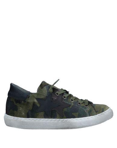 Zapatos cómodos Mujer y versátiles Zapatillas 2Star Mujer cómodos - Zapatillas 2Star - 11553961RR Verde militar 0a5d40
