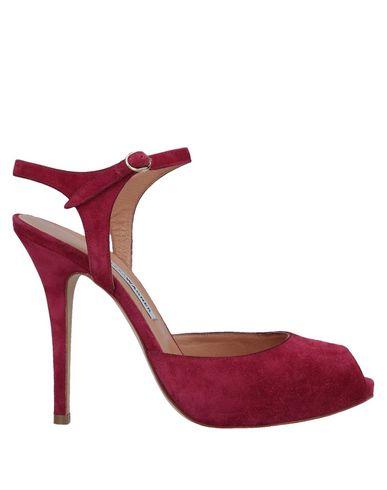ALEXA WAGNER Sandals in Garnet