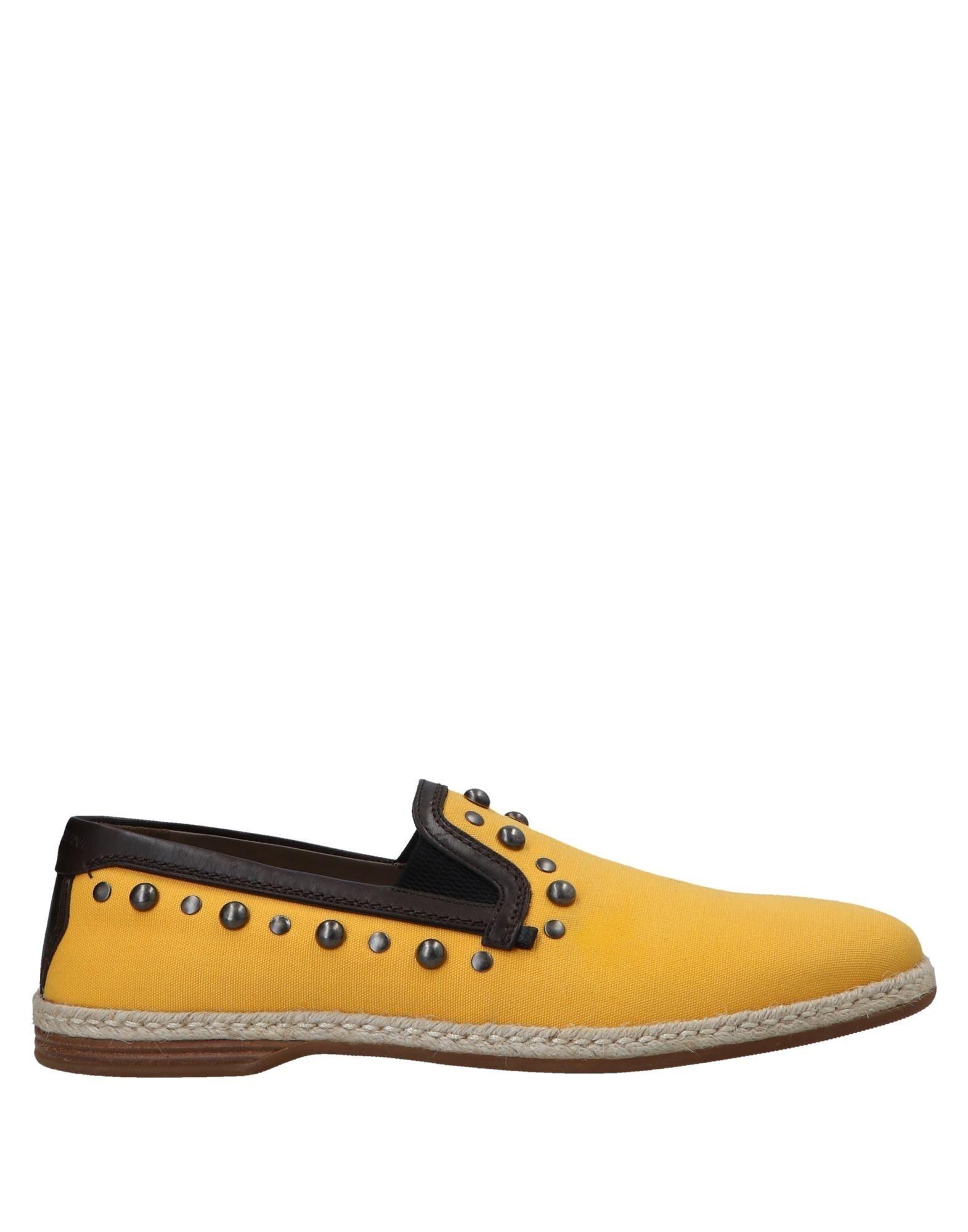 Zapatillas Dolce & Gabbana Gabbana & Hombre - Zapatillas Dolce & Gabbana  Ocre c05028