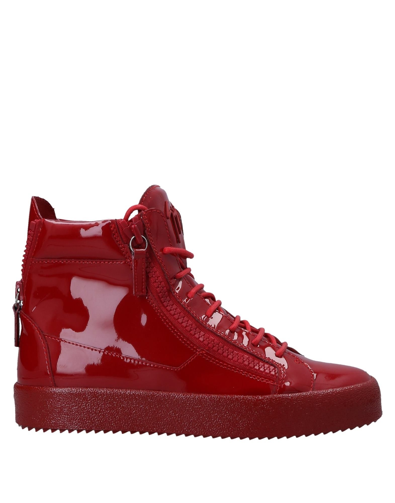 Sneakers Giuseppe Zanotti Homme - Sneakers Giuseppe Zanotti  Rouge Chaussures casual sauvages
