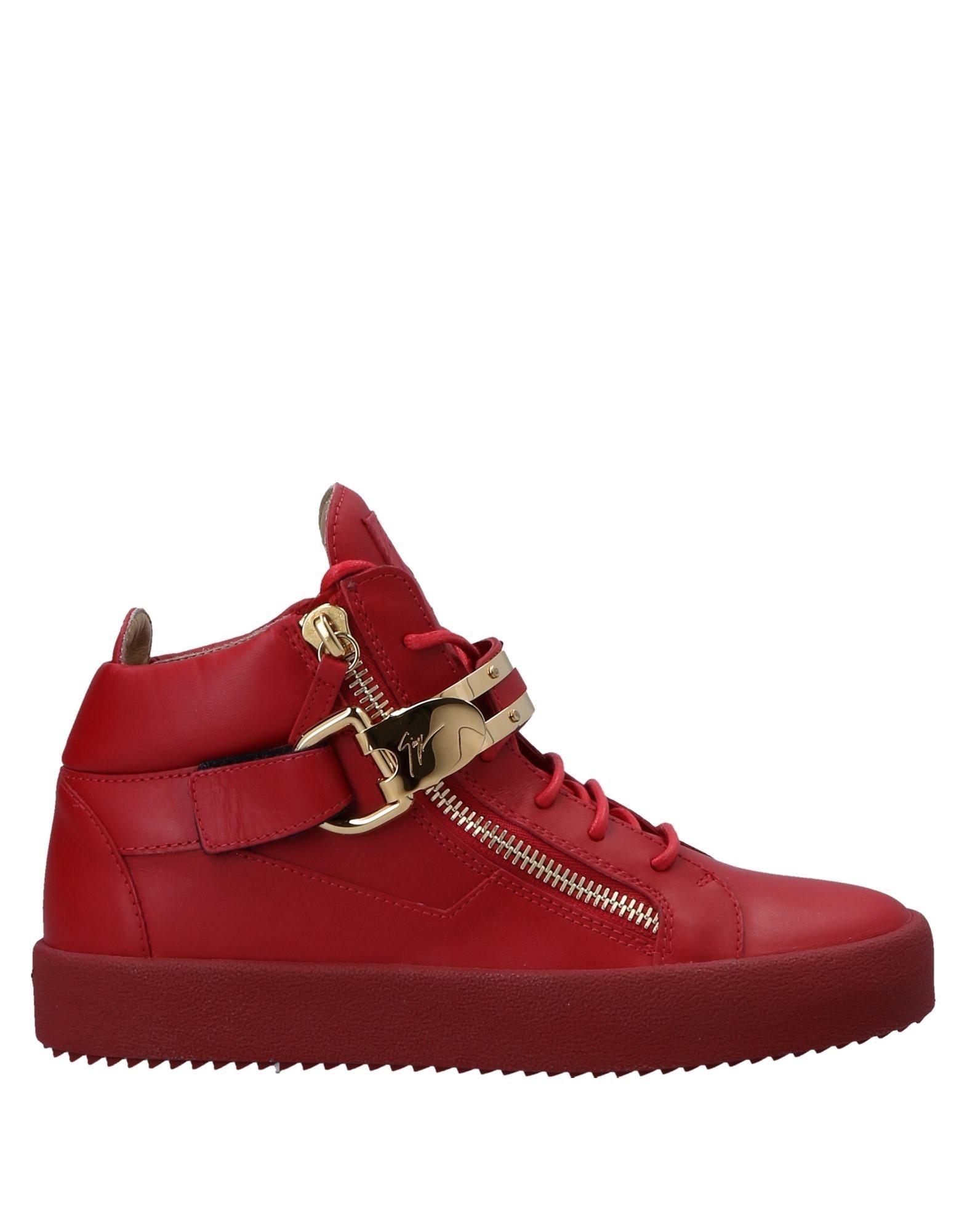 Sneakers Giuseppe Zanotti Homme - Sneakers Giuseppe Zanotti  Rouge Réduction de prix saisonnier, remise