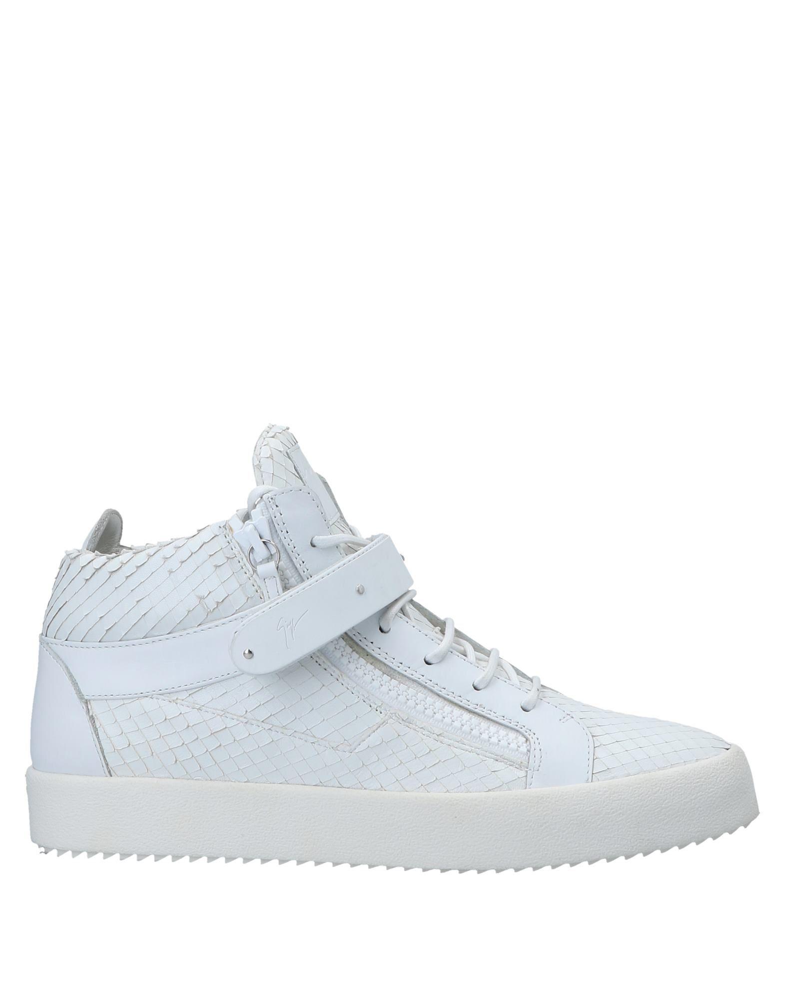 Sneakers Giuseppe Zanotti Homme - Sneakers Giuseppe Zanotti  Blanc Réduction de prix saisonnier, remise