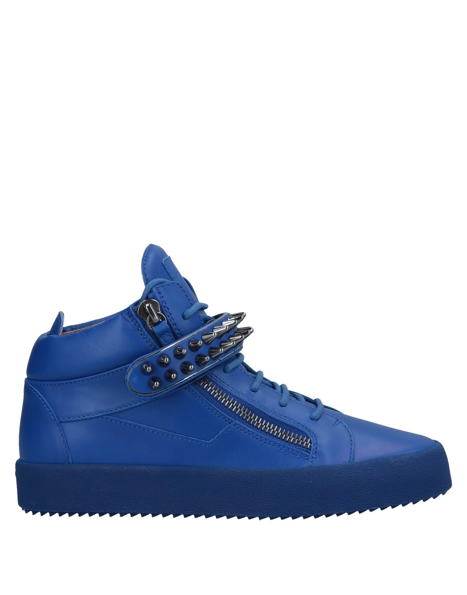 Sneakers Giuseppe Zanotti Homme - Sneakers Giuseppe Zanotti  Bleu Super rabais