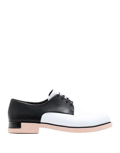 À Blanc Camper Chaussures Camper Lacets Chaussures FPqTw0