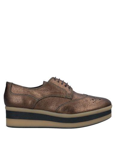 À Quintana Pons Chaussures Bronze Lacets F6wOBqpWO