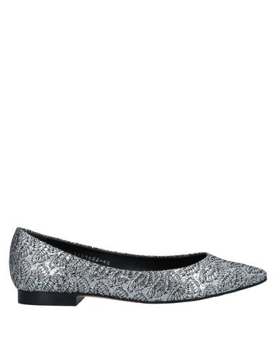 GINA Ballet Flats in Silver