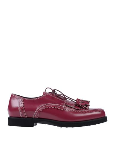 Pourpre Chaussures Lacets Chaussures À Tod's Tod's Lacets Tod's À Chaussures Pourpre À wxO4qPtBB