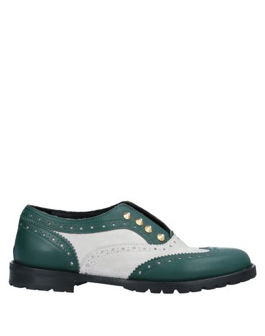 L'F SHOES Loafers in Green