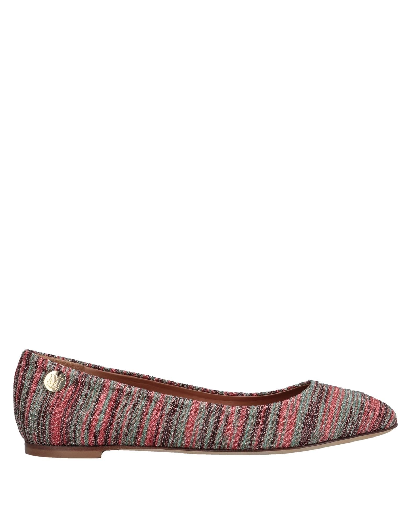 Stilvolle billige Schuhe  M Missoni Ballerinas Damen  Schuhe 11558733DX 7b8fff
