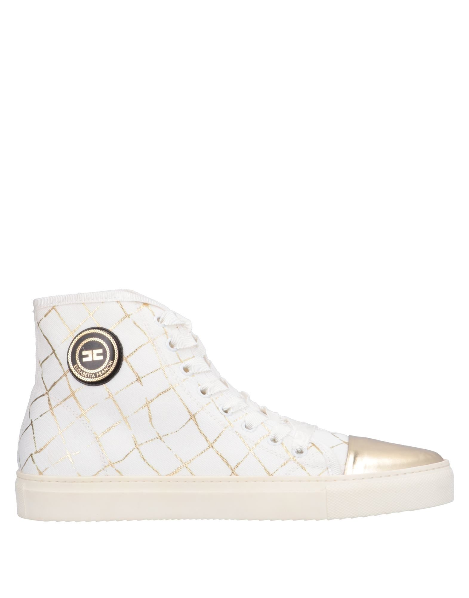 Stilvolle Jeans billige Schuhe Elisabetta Franchi Jeans Stilvolle Sneakers Damen  11558877DD 3bcaa3