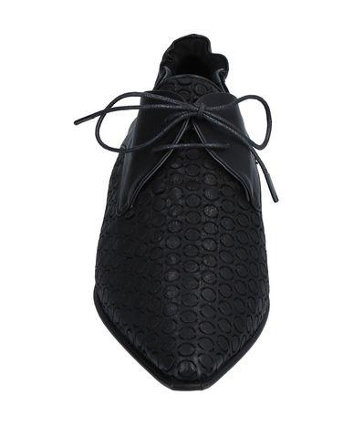 Noir Chaussures Lacets À À Chaussures Lacets Malloni Malloni IxqZaSw0