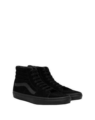 ff55e1391b Vans Ua Sk8-Hi Black Black - Sneakers - Women Vans Sneakers online ...