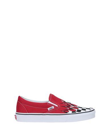 0c7ca69ef12 Vans Ua Classic Slip-On (Checker Flame) - Sneakers - Women Vans ...