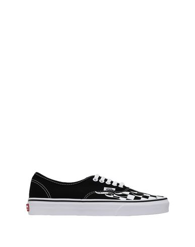 d4c2d2fc4f Vans Ua Authentic (Checker Flame) - Sneakers - Men Vans Sneakers ...