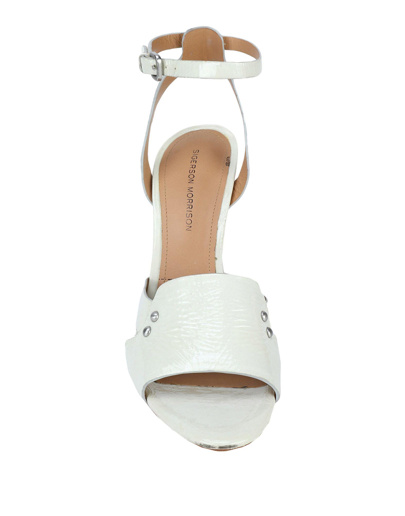 Sigerson Morrison strapazierfähige Sandalen Damen 11560289STGut aussehende strapazierfähige Morrison Schuhe 08669d