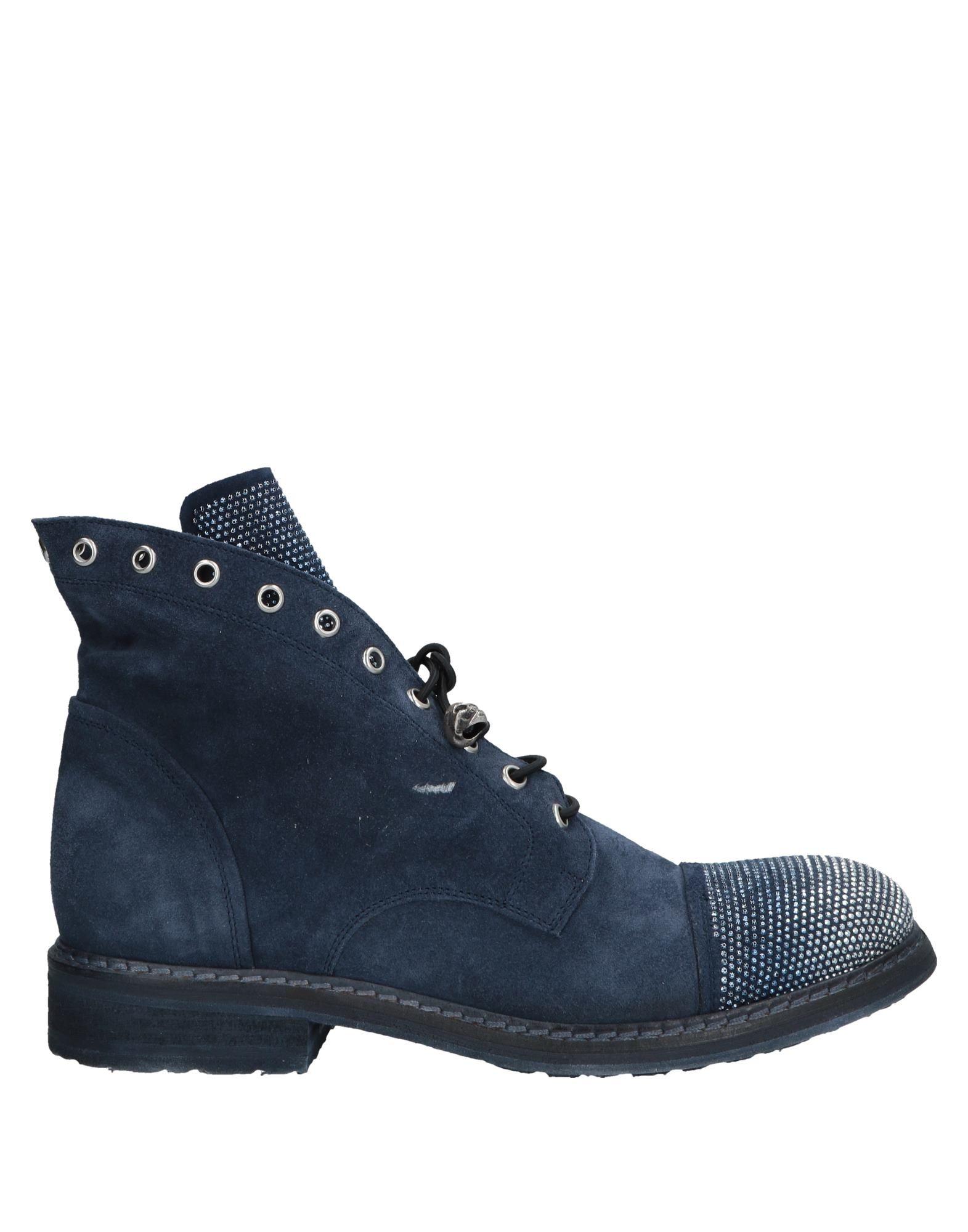 Bottine Garrice Femme - Bottines Garrice Bleu foncé Chaussures femme pas cher homme et femme