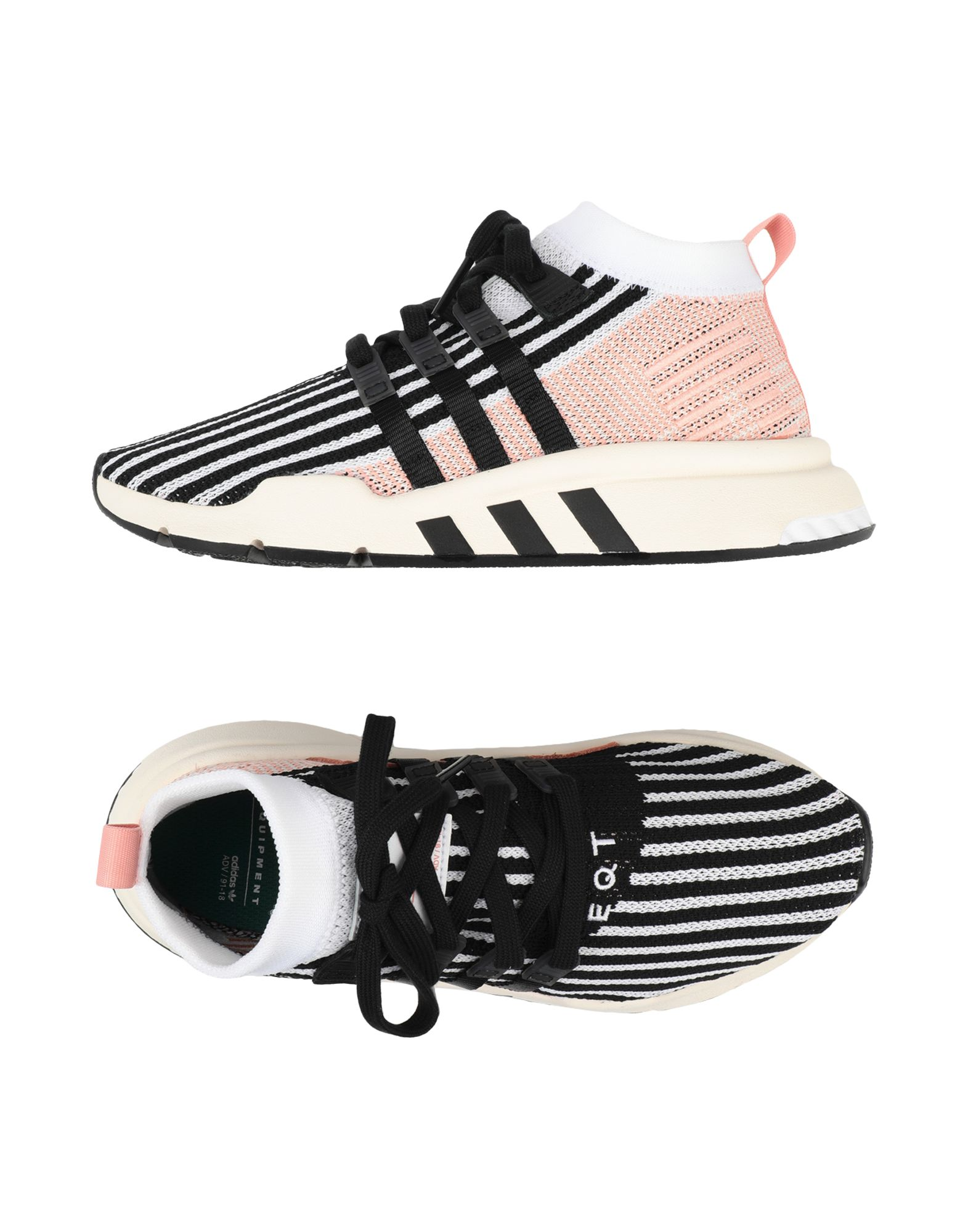 Baskets Adidas Originals Eqt Support Mid Adv - Femme - Baskets Adidas Originals Noir Remise de marque
