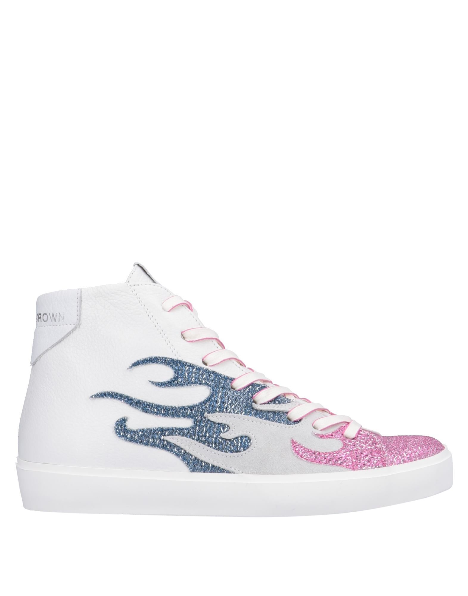 Leather Crown Sneakers - Women on Leather Crown Sneakers online on Women  Canada - 11563868VD 9730b7
