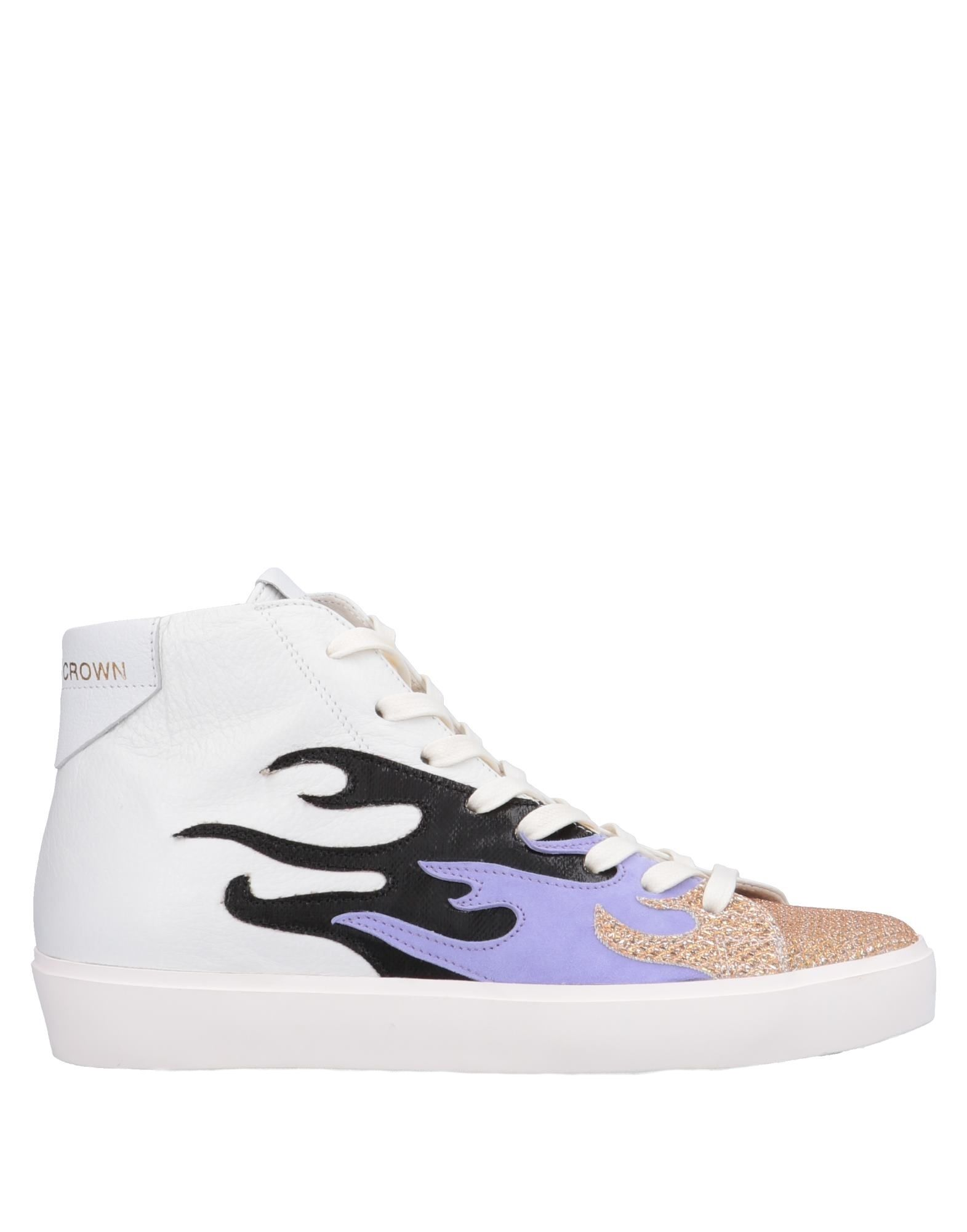 Leather Crown Sneakers - Women on Leather Crown Sneakers online on Women  Canada - 11563892FV a4b137