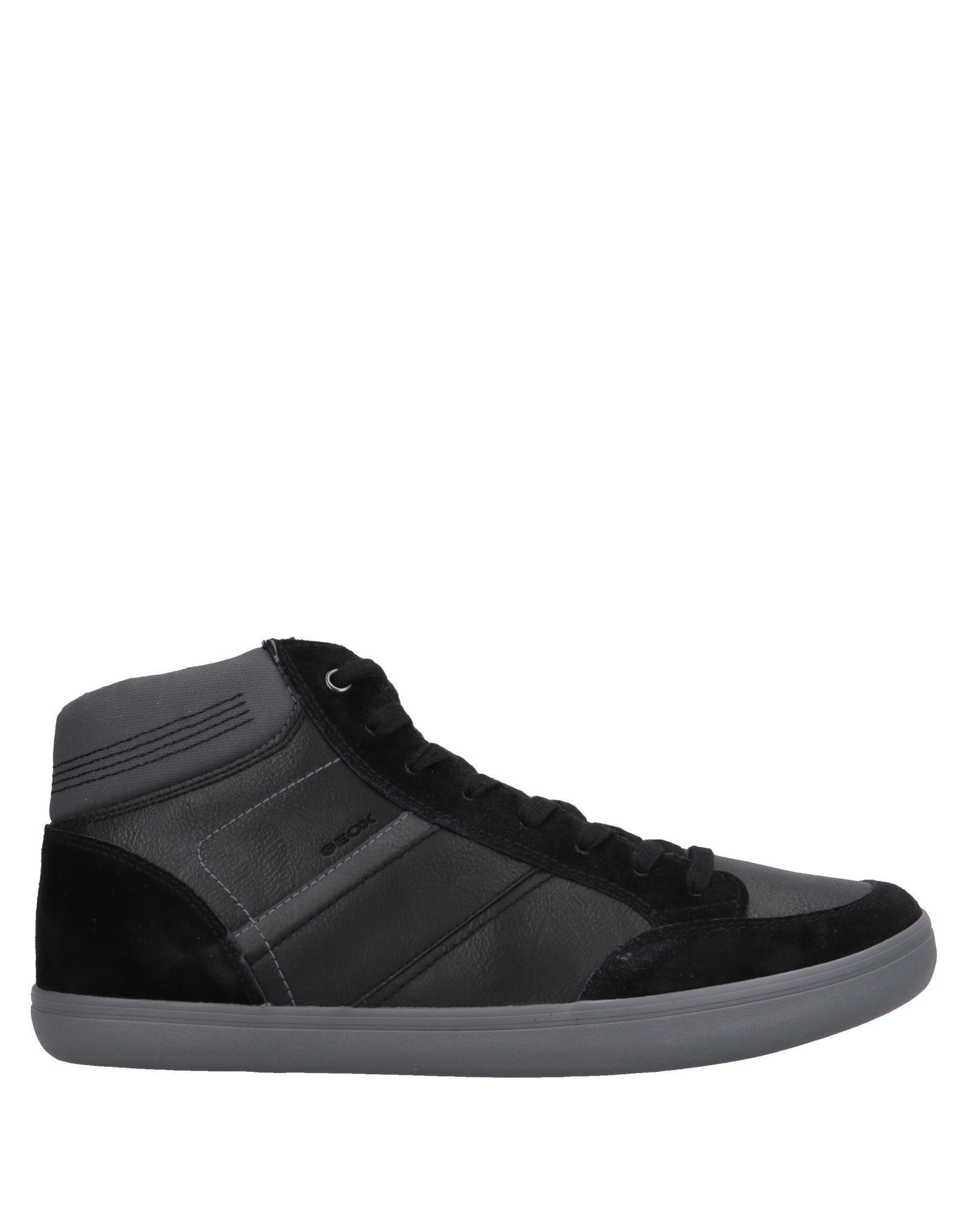 Sneakers Geox Homme - Sneakers Geox  Noir Nouvelles chaussures pour hommes et femmes, remise limitée dans le temps