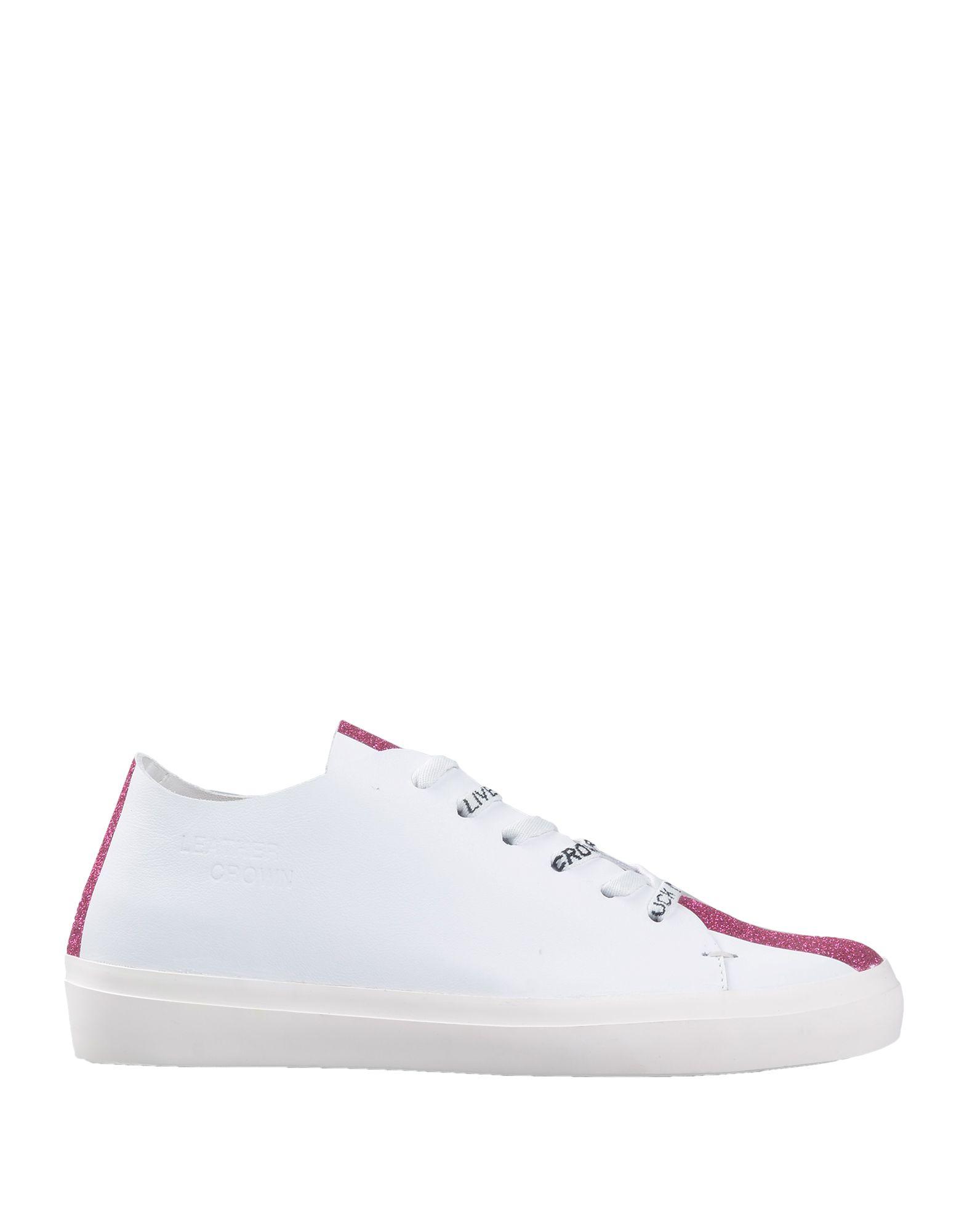 Leder Crown Sneakers Damen Gutes Preis-Leistungs-Verhältnis, es lohnt sich 989