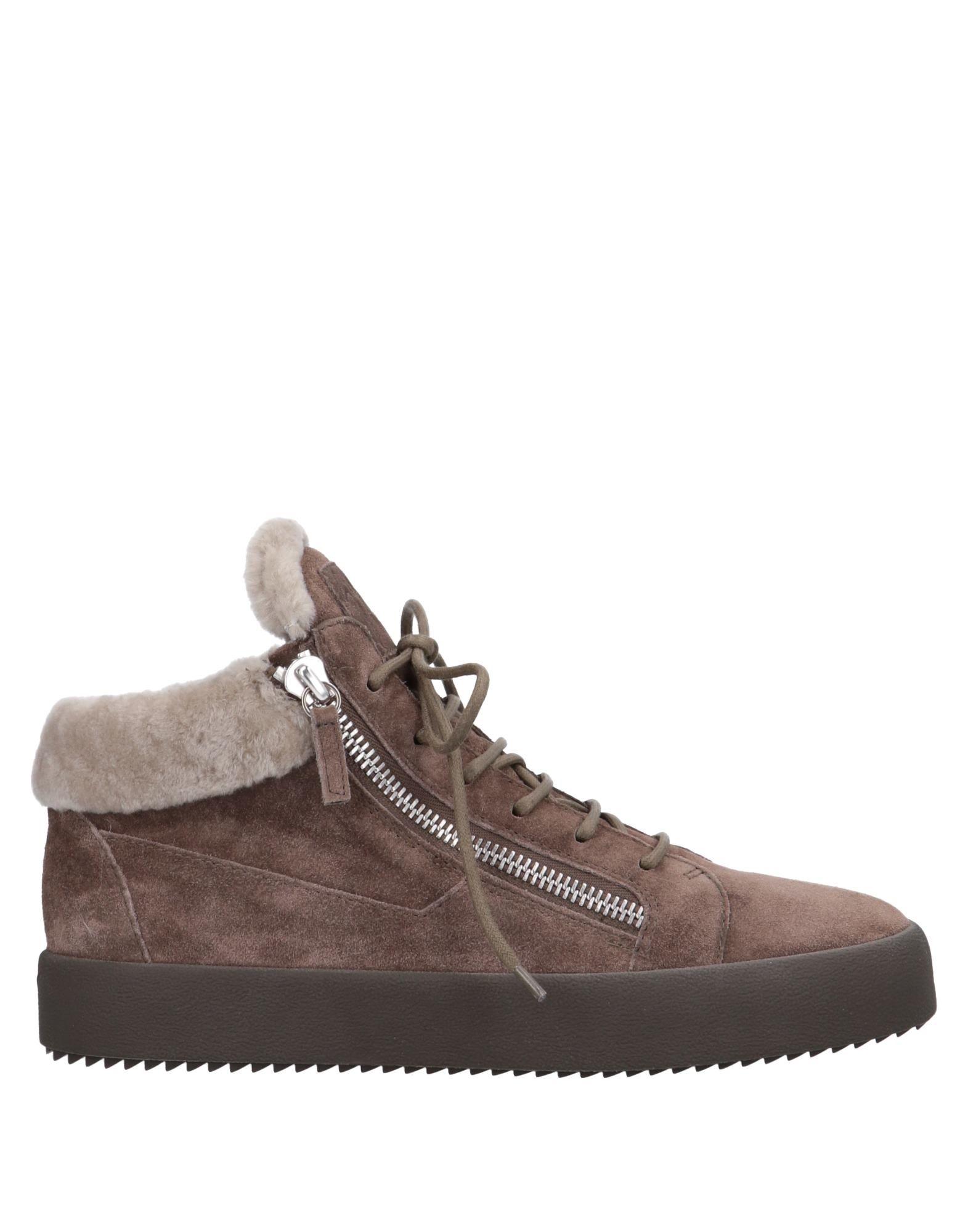 Sneakers Giuseppe Zanotti Homme - Sneakers Giuseppe Zanotti  Gris tourterelle Super rabais