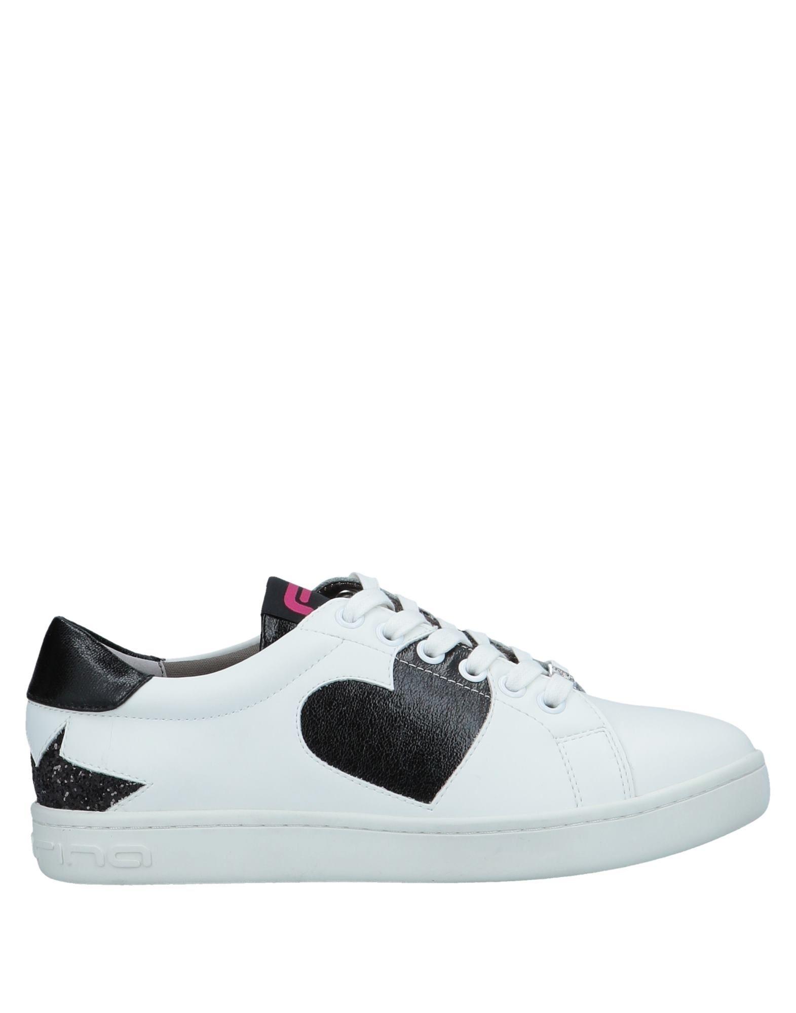 Baskets Fornarina Femme Chaussures - Baskets Fornarina Blanc Chaussures Femme casual sauvages 6e305a