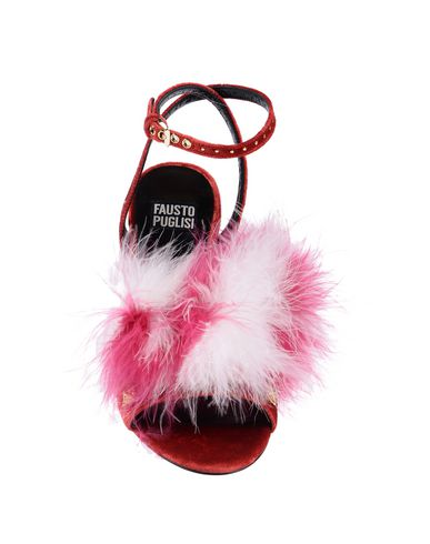 Sandales Rouge Rouge Sandales Puglisi Fausto Puglisi Fausto Sandales Puglisi Fausto XwzqfOg
