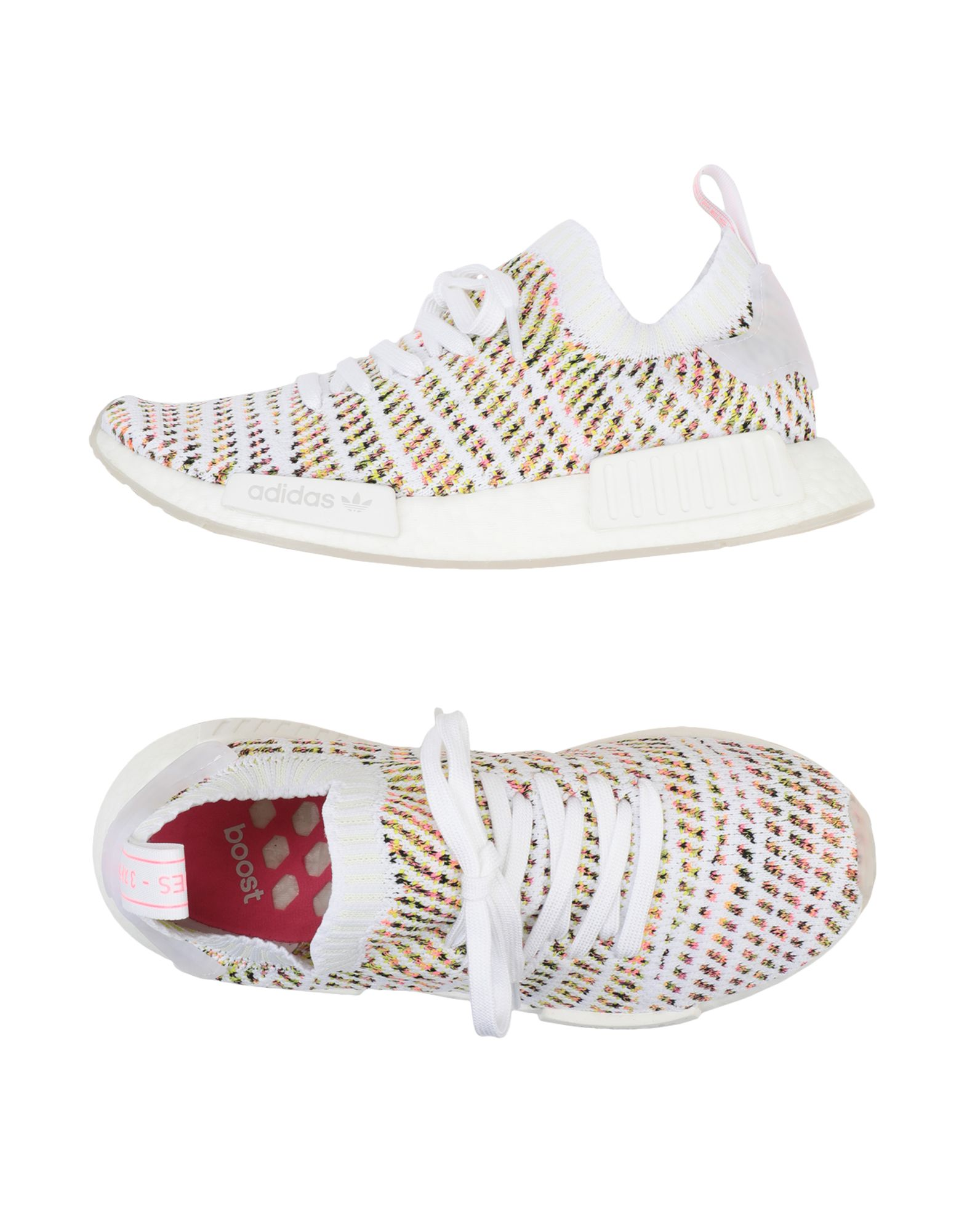 Baskets Adidas Originals Nmd_R1 Stlt Pk W - Femme - Baskets Adidas Originals Blanc Remise de marque