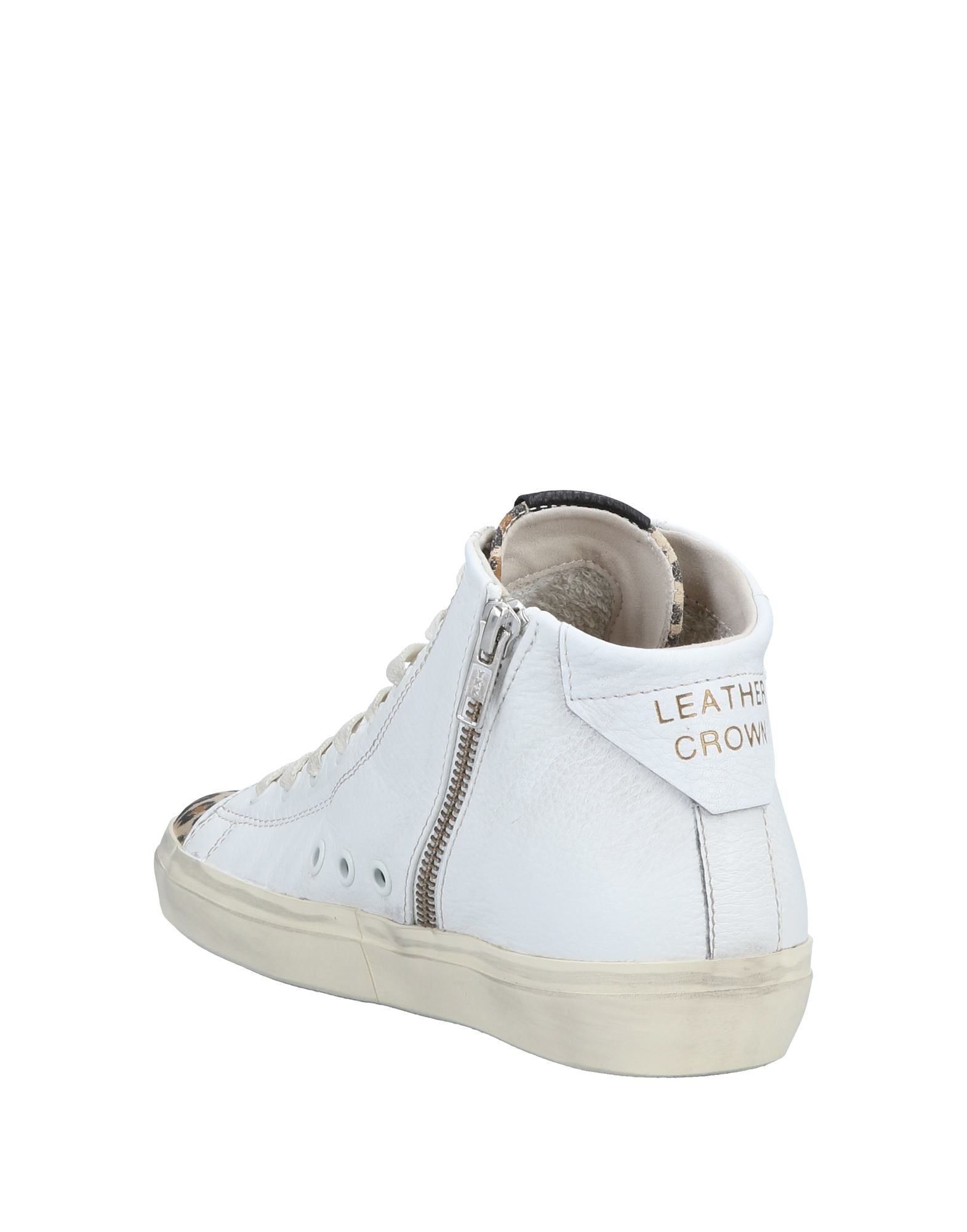 Leather Crown Sneakers - Women Leather Crown Crown Crown Sneakers online on  United Kingdom - 11566658EB 687f13