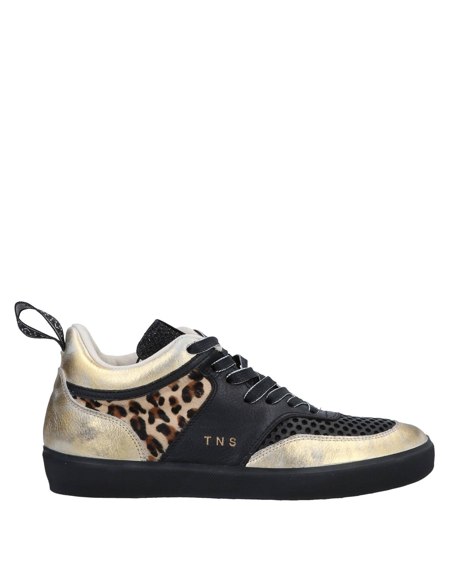 Zapatillas Leather - Crown Mujer - Leather Zapatillas Leather Crown  Negro fefb48