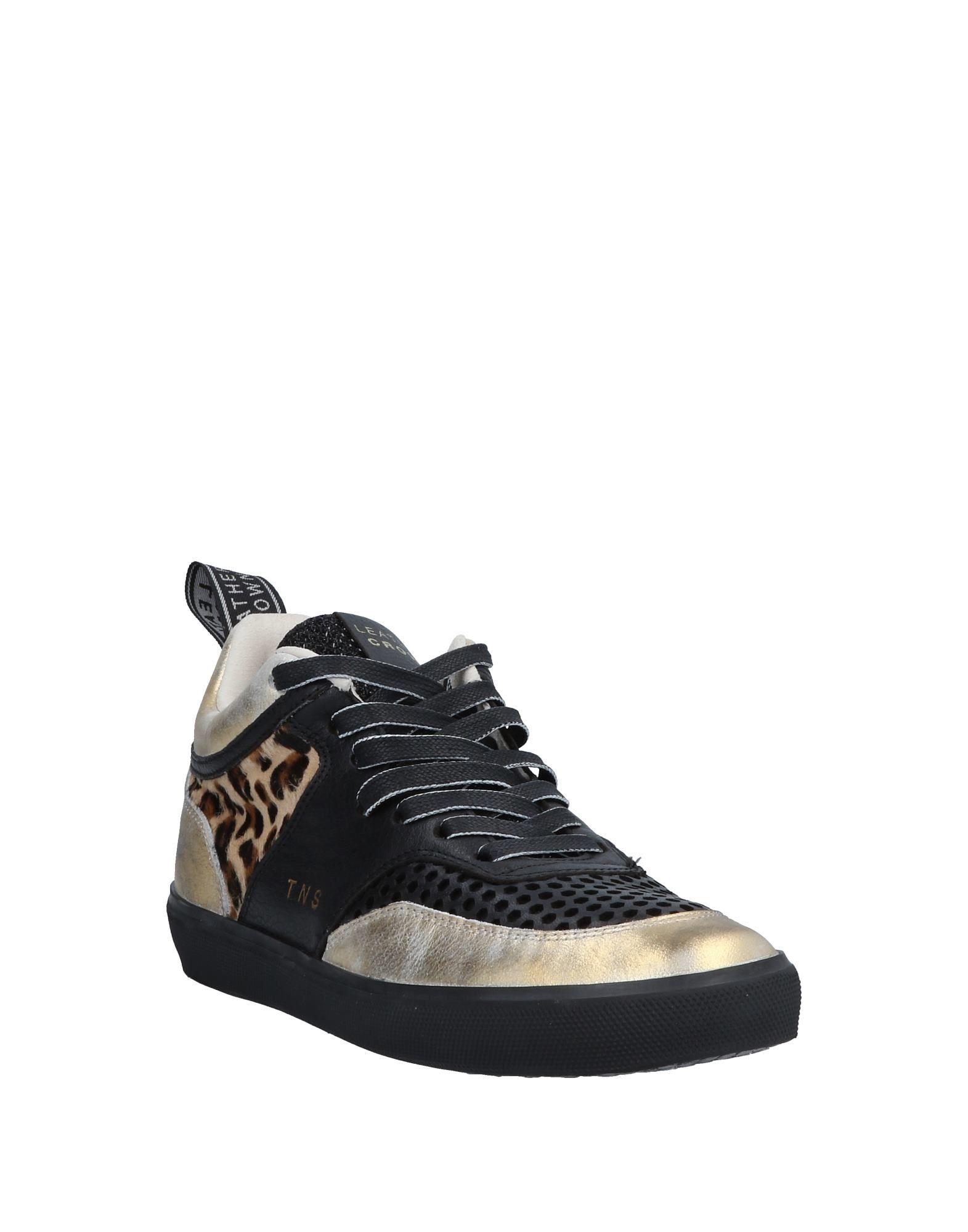 Stilvolle Crown billige Schuhe Leder Crown Stilvolle Sneakers Damen  11566660TH e924d0