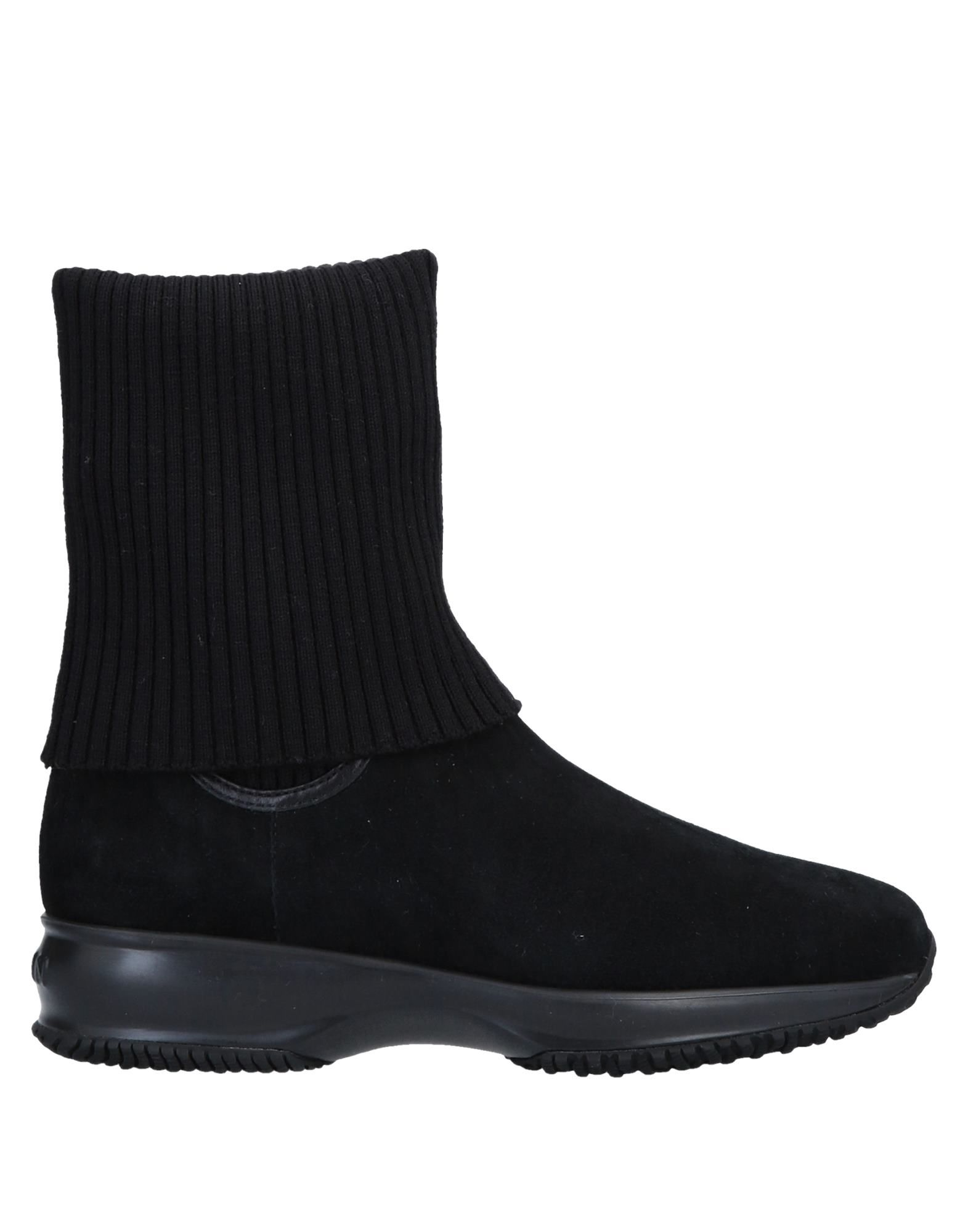 Bottine Hogan Femme - Bottines Hogan Noir Chaussures femme pas cher homme et femme