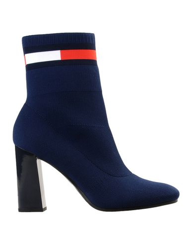 b22528eb97a07 Tommy hilfiger sock heeled boot ankle boot women tommy hilfiger ankle boots  online on yoox united