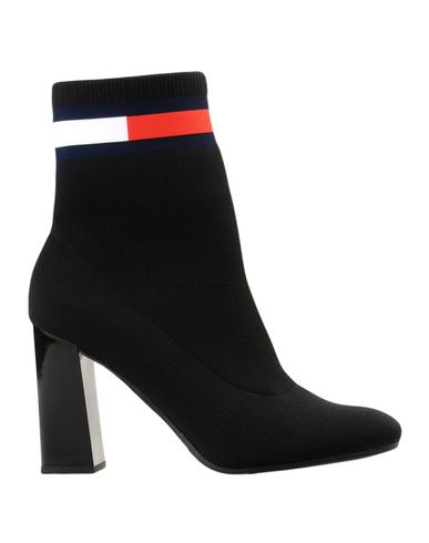 78155f86d7d841 Tommy Hilfiger Sock Heeled Boot - Ankle Boot - Women Tommy Hilfiger ...