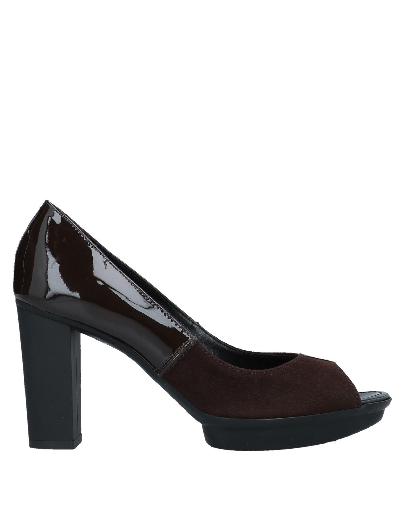 Escarpins Hogan Femme - Escarpins Hogan Moka Chaussures casual sauvages