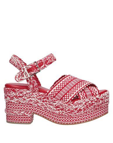 ANTOLINA PARIS Sandals in Red