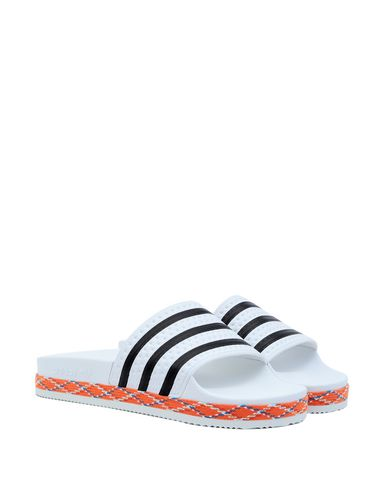 Adilette Donna W Bold Scarpe New Bianco Sandali Adidas Originals