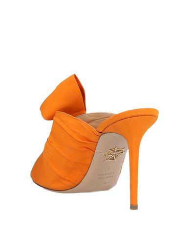 Charlotte Charlotte Orange Olympia Olympia Charlotte Sandales Olympia Orange Sandales 4SnnwT7Hq