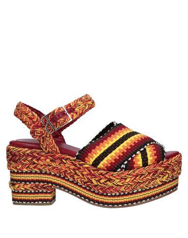 ANTOLINA PARIS Sandals in Garnet