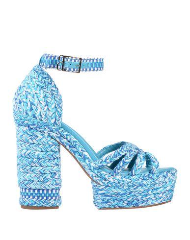 ANTOLINA PARIS Sandals in Turquoise