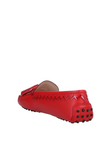 Mocassins Tod's Tod's Rouge Rouge Mocassins Mocassins Tod's Tod's Rouge qtPaaR