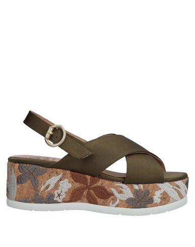 Vert Vert Militaire Sandales Sandales Militaire Vert Militaire Kanna Kanna Sandales Kanna Kanna OqEnPxHER